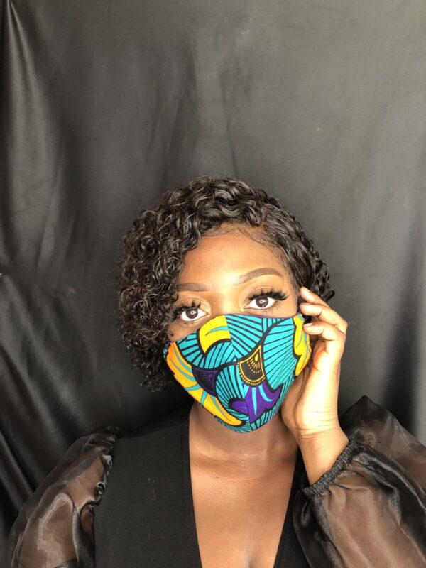 Reversible Face Mask Flower