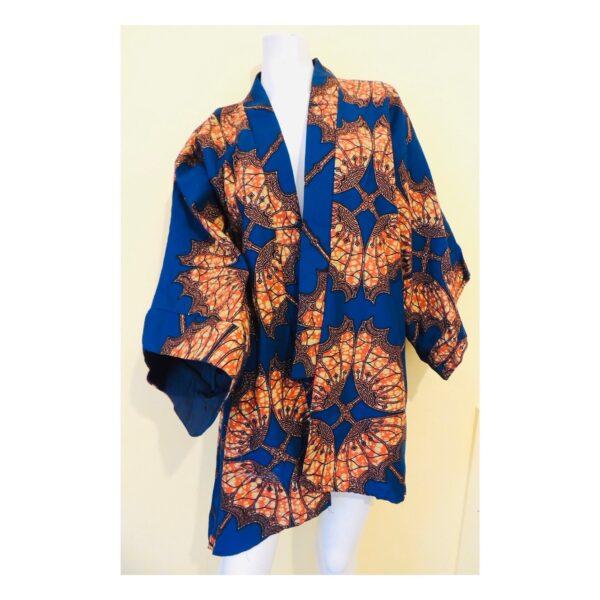 Kimono Blue Butterfly