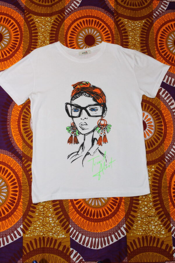 T-Shirt Turban Girl
