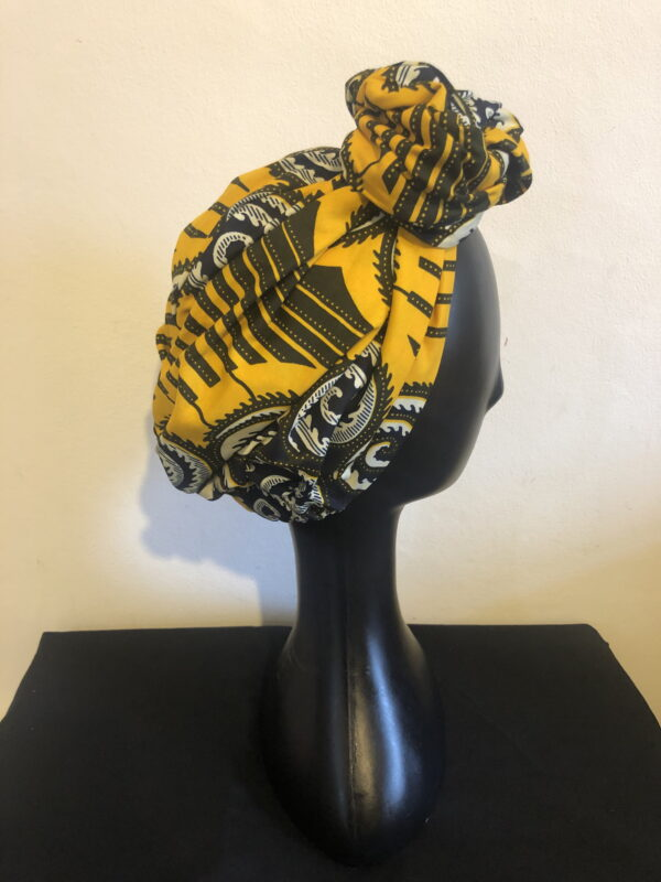 Ready made Turban Yellow