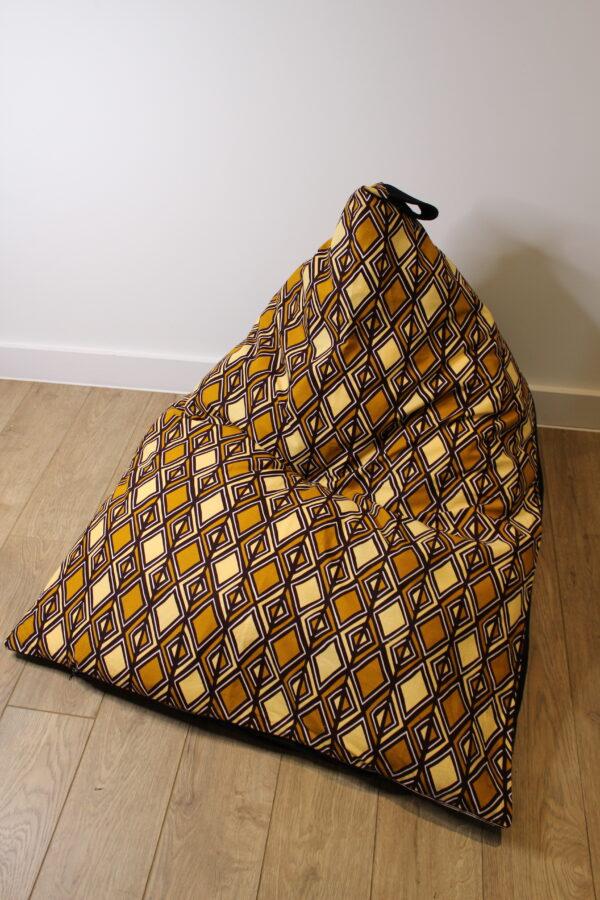 Large Bean Bag Cover MUD CLOTH